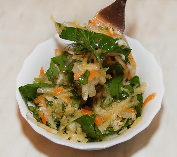 Салат витаминный рецепт