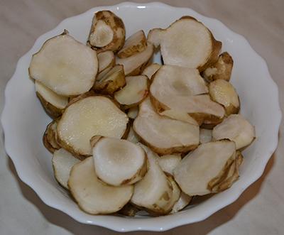 Топинамбур - земляная груша