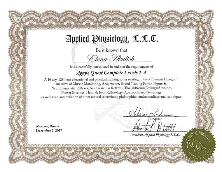 Applied Phusiologu; Прикладная Физиология